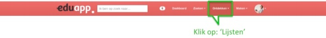 130121 Lijsten zoeken Eduapp